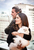 Antonio Banderas and Salma Hayek Stock Image