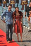 Antonio Banderas, Salma Hayek Στοκ φωτογραφία με δικαίωμα ελεύθερης χρήσης