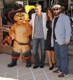 Antonio Banderas, Salma Hayek, Zach Galifianakis Royalty Free Stock Photos