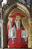Antonio and Bartolomeo Vivarini: Saint Jerome. Altarpiece in Monastery of St.. Bernardin in Kampor, Croatia Stock Photo