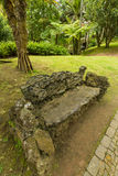Antonio Borges Botanical Garden dans Ponta Delgada photo stock