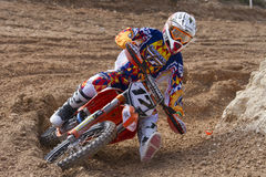 Antonio Butron  in the Spanish championship MX Stock Image