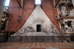 Antonio Canova's tomb Stock Photos
