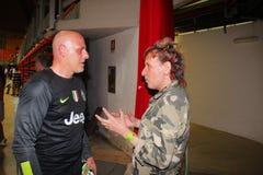 Antonio Chimenti και Paolo Solange Στοκ εικόνες με δικαίωμα ελεύθερης χρήσης