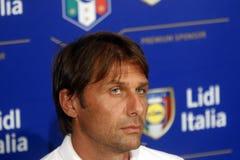 Antonio Conte, Italien Lizenzfreie Stockfotos