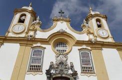 antonio De Matriz Kościoła santo tiradentes Zdjęcia Stock