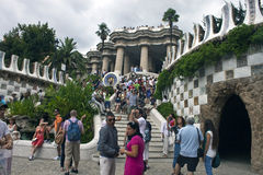 Antonio Gaudi Architektur Lizenzfreies Stockbild