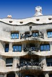 Antonio Gaudi Casa Mila or Pedrera Royalty Free Stock Photography