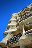 Antonio Gaudi Casa Mila or Pedrera Stock Photo