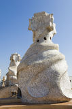 Antonio Gaudi Chimney Royalty Free Stock Photo