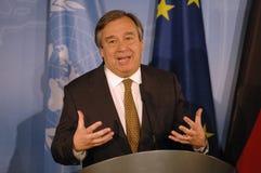 Antonio Guterres Στοκ φωτογραφίες με δικαίωμα ελεύθερης χρήσης