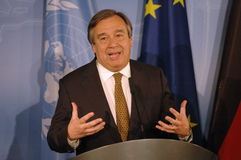 Antonio Guterres Royalty Free Stock Photos