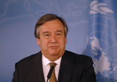 Antonio Guterres Stock Photo