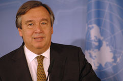 Antonio Guterres Royalty Free Stock Image