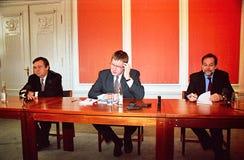 ANTONIO GUTERRES Z DUŃSKIM PIERWSZORZĘDNYM ministrem I UE Zdjęcie Stock