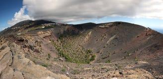 antonio la palma圣火山 免版税库存图片