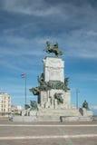 Antonio Maceo Monument , Cuba. Antonio Maceo Monument on the Malecon in Havana, Cuba Stock Photo