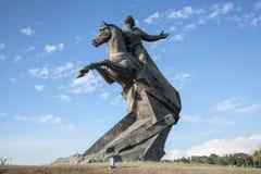 Antonio Maceo Monument stock photos