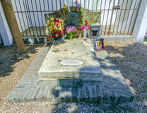 Antonio Machado tomb, Collioure, France Stock Photography