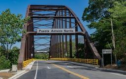 Antonio Narino Bridge Fotos de archivo
