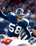 Antonio Pierce, New York Giants Στοκ Εικόνα
