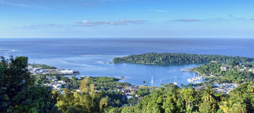 Antonio portuario, Jamaica fotografía de archivo