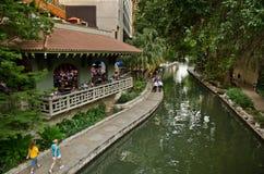 antonio riverwalk圣 库存照片