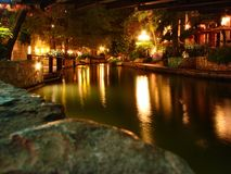 antonio riverwalk San fotografia royalty free