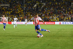 Antonio Sanabria κατά τη διάρκεια Copa Αμερική Centenario Στοκ Εικόνες