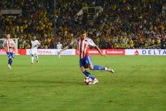 Antonio Sanabria podczas Copa Ameryka Centenario Zdjęcie Stock