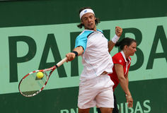 Antonio Veic (CRO) at Roland Garros 2011 Stock Photos
