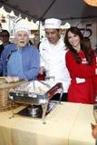Antonio Villaraigosa, Jennifer Love Hewitt, Kirk Douglas, Foto de archivo