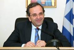 Antonis Samaras Royalty Free Stock Photos