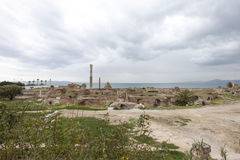 Antonius bath, Carthage Stock Images
