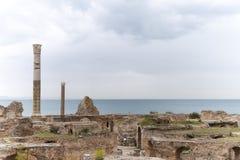 Antonius bath, Carthage Royalty Free Stock Photography