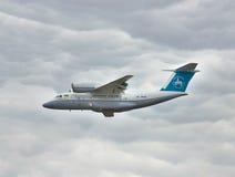 Antonov ένας-74 αεροπλάνο μεταφοράς εμπορευμάτων Στοκ φωτογραφία με δικαίωμα ελεύθερης χρήσης