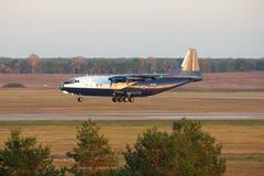 Antonov ένας-12 αεροπλάνο μεταφοράς εμπορευμάτων Στοκ φωτογραφία με δικαίωμα ελεύθερης χρήσης