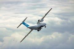 Antonov ένας-74 αεροπλάνο μεταφοράς εμπορευμάτων Στοκ εικόνα με δικαίωμα ελεύθερης χρήσης