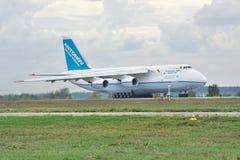 Antonov ένας-124 αεροπλάνο μεταφοράς εμπορευμάτων Στοκ εικόνες με δικαίωμα ελεύθερης χρήσης