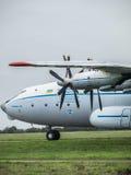 Antonov ένας-22 αεροπλάνο μεταφοράς εμπορευμάτων Στοκ φωτογραφία με δικαίωμα ελεύθερης χρήσης
