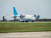 Antonov ένας-70 αεροπλάνο μεταφοράς εμπορευμάτων Στοκ εικόνα με δικαίωμα ελεύθερης χρήσης