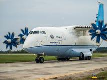Antonov ένας-70 αεροπλάνο μεταφοράς εμπορευμάτων Στοκ Φωτογραφίες