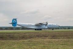 Antonov ένας-22 αεροπλάνο μεταφοράς εμπορευμάτων Στοκ εικόνα με δικαίωμα ελεύθερης χρήσης
