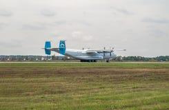 Antonov ένας-22 αεροπλάνο μεταφοράς εμπορευμάτων Στοκ Εικόνα