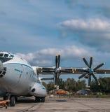 Antonov ένας-22 αεροπλάνο μεταφοράς εμπορευμάτων Στοκ Εικόνες