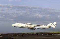 Antonov ένας-225 αεροπλάνο μεταφοράς εμπορευμάτων Mriya Στοκ φωτογραφία με δικαίωμα ελεύθερης χρήσης