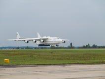 Antonov ένας-225 αεροπλάνο μεταφοράς εμπορευμάτων Mriya Στοκ Φωτογραφίες