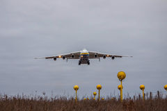 Antonov ένας-225 αεροπλάνο μεταφοράς εμπορευμάτων Mriya Στοκ Φωτογραφία