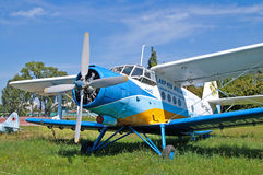 Antonov ένας-2 αεροσκάφη στο μουσείο κρατικής αεροπορίας Zhuliany σε Kyiv, Ουκρανία Στοκ φωτογραφία με δικαίωμα ελεύθερης χρήσης