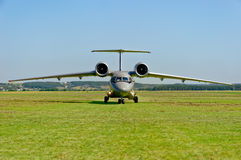 Antonov ένας-72 αεροσκάφη Στοκ Εικόνες